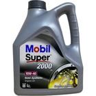 Моторное масло Mobil SUPER 2000 X1 10W-40, канистра 4 л