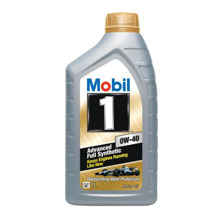 Моторное масло Mobil 1 0W-40, канистра 1 л