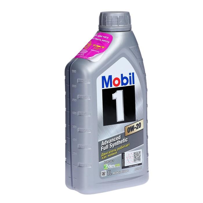 Масло моторное Mobil 1 0w-20, 1 л