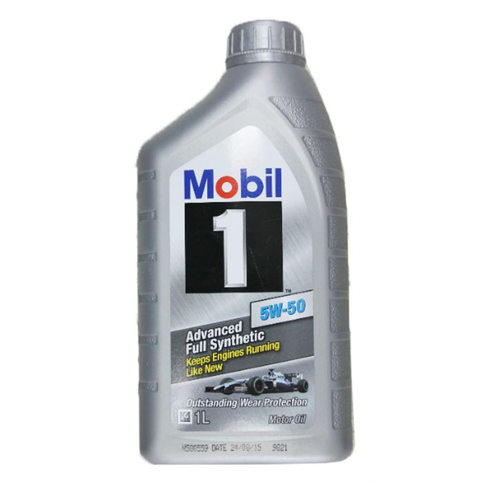 Моторное масло Mobil 1 5W-50, канистра 1 л
