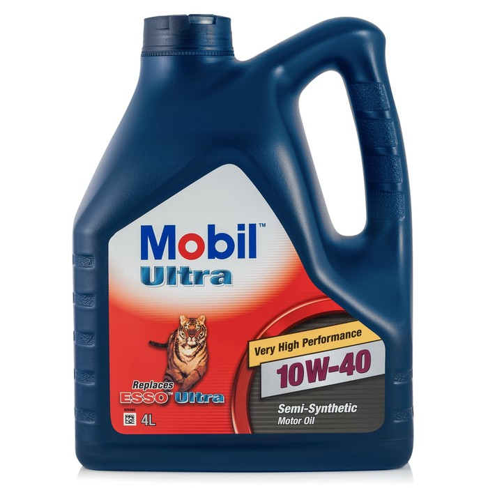 Моторное масло Mobil ULTRA 10W-40, канистра 4 л
