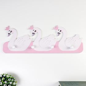 "Decorative tree hooks ""Swans in crowns"" 18, 5x50x4, 5 cm"