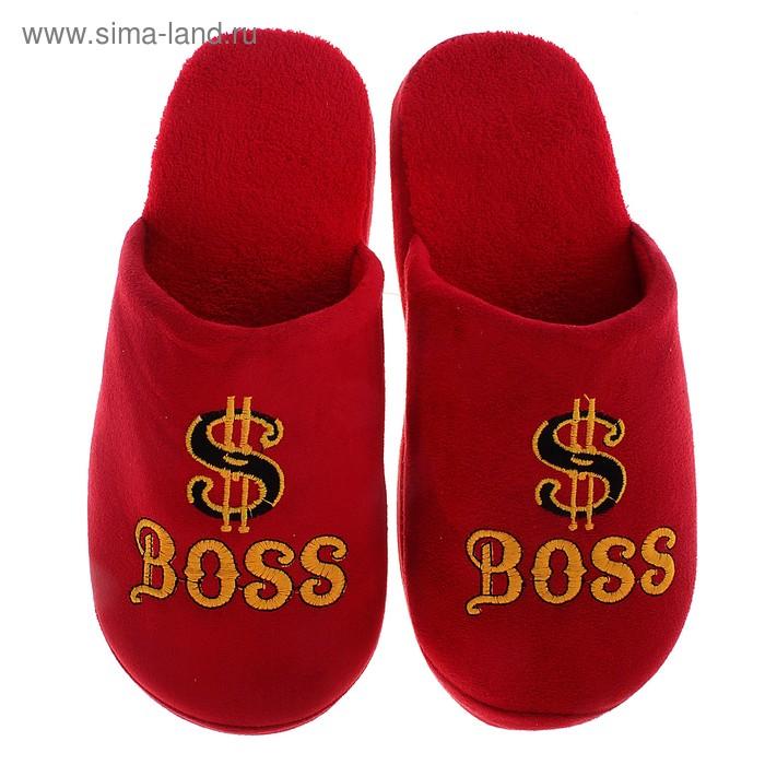 """Тапочки домашние """"Boss"""", S/41-42"""