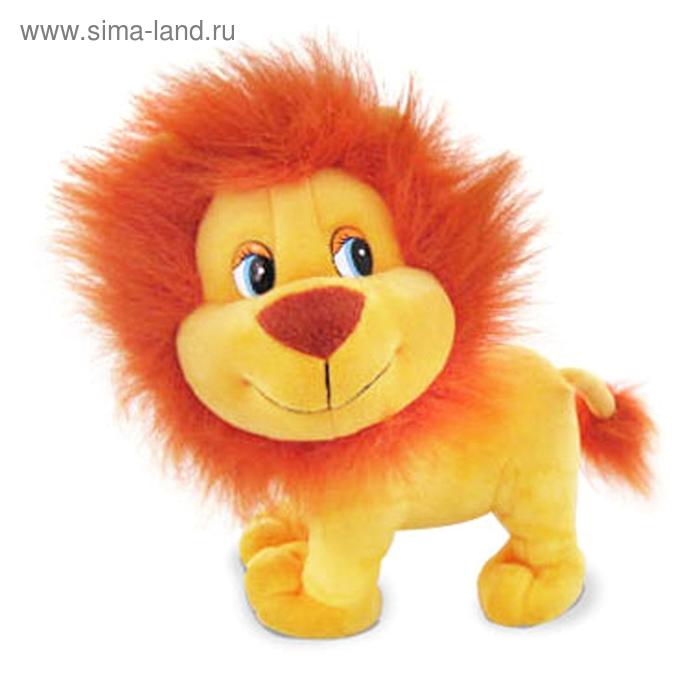 Мягкая игрушка «Львёнок Вилли» музыкальная