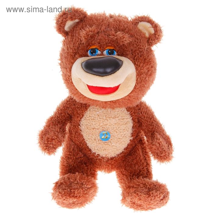 Мягкая игрушка «Медведь Мартин» музыкальная
