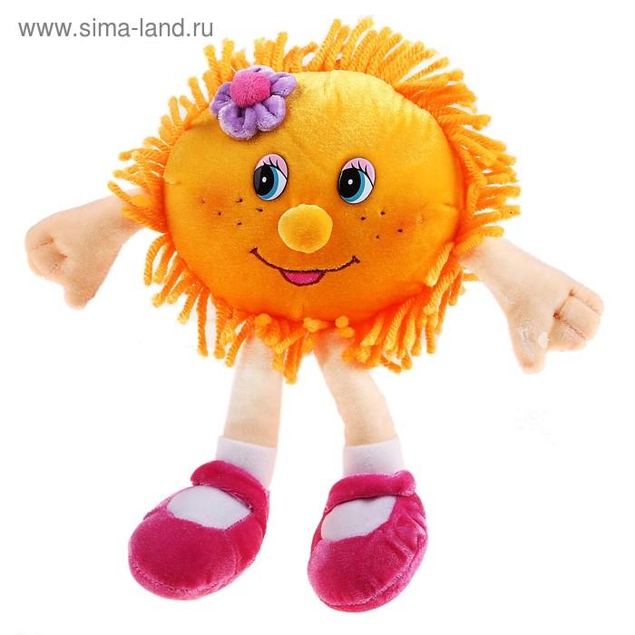 """Мягкая музыкальная игрушка """"Солнышко с цветочком"""", 26 см"""