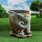 "Фигурное кашпо ""Слон"" 11 л - фото 1695160"