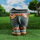 "Фигурное кашпо ""Слон"" 11 л - фото 1695162"