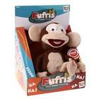 Интерактивная игрушка обезьянка «Забавные друзья», смеётся, работает от батареек