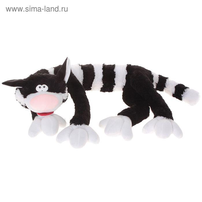 Мягкая игрушка кот «Полосатик» большой, цвета МИКС