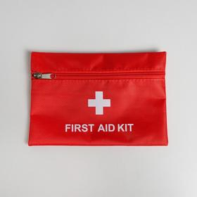 Косметичка дорожная First Aid, 20х14 см