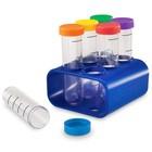 Опыты для детей «Моя первая лаборатория. Колбы с подставкой», 6 элементов