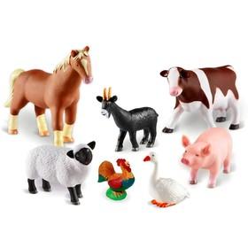 Игровой набор «Животные фермы», 7 элементов