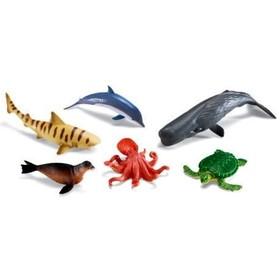 Игровой набор «Обитатели океана», 6 элементов