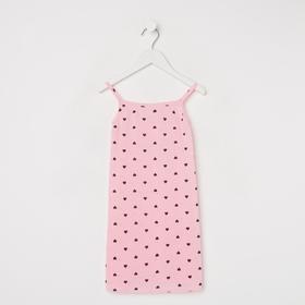Сорочка для девочки, цвет микс, рост 92 см