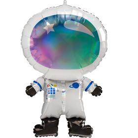 """Шар фольгированный 28"""" «Космонавт», градиент, фигура"""