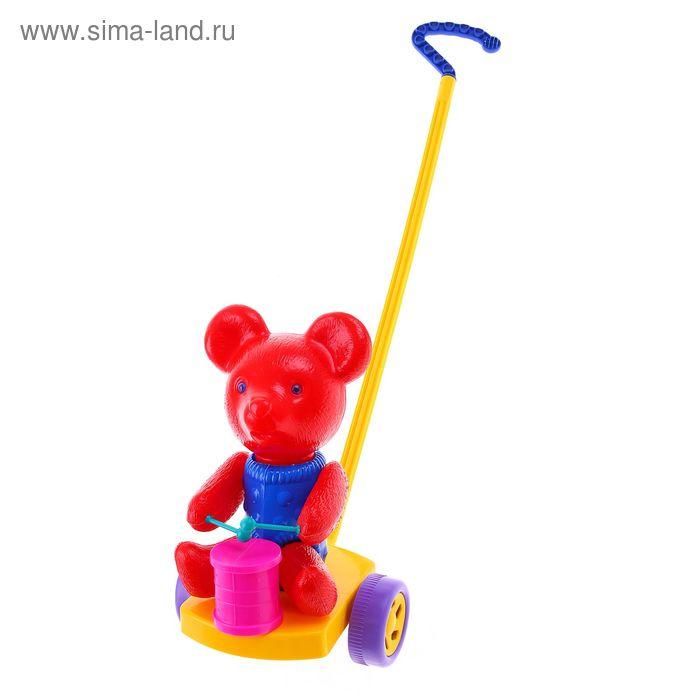 "Каталка ""Мишка с барабаном"", МИКС"
