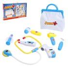 Набор медсестры, 8 предметов с сумкой, световой и звуковой эффект