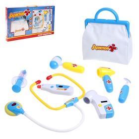 Набор медсестры, 8 предметов, с сумкой, световой и звуковой эффект