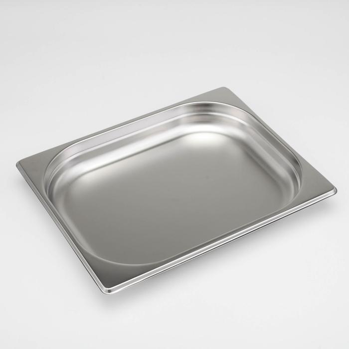 Гастроёмкость 1/2×1,5'' Luxstahl, 32,7×26,5×4 см - фото 369379