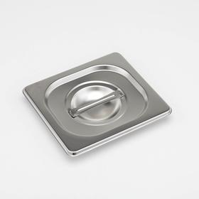 Крышка для гастроёмкости 1/6 Luxstahl