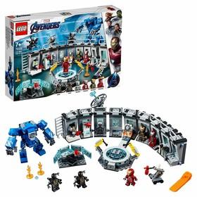 Конструктор Super Heroes Marvel «Лаборатория Железного человека»