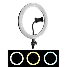 Светодиодная кольцевая лампа ZD666, лампа 26 см, 3 режима, работает от USB Ош