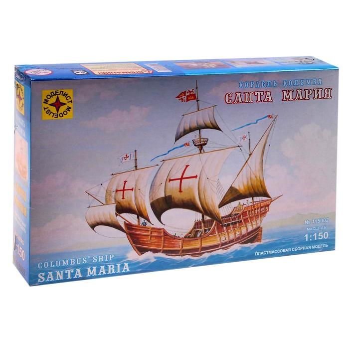 """Сборная модель """"Корабль Колумба """"Санта-Мария"""""""