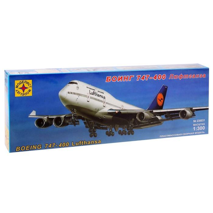 Сборная модель «Боинг 747-400 — Люфтганза» - фото 106530135
