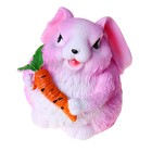 """Копилка """"Кролик-малыш"""" розовая"""