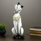"Фигура ""Кошка Анжелика"" белая 11х13х45 см"