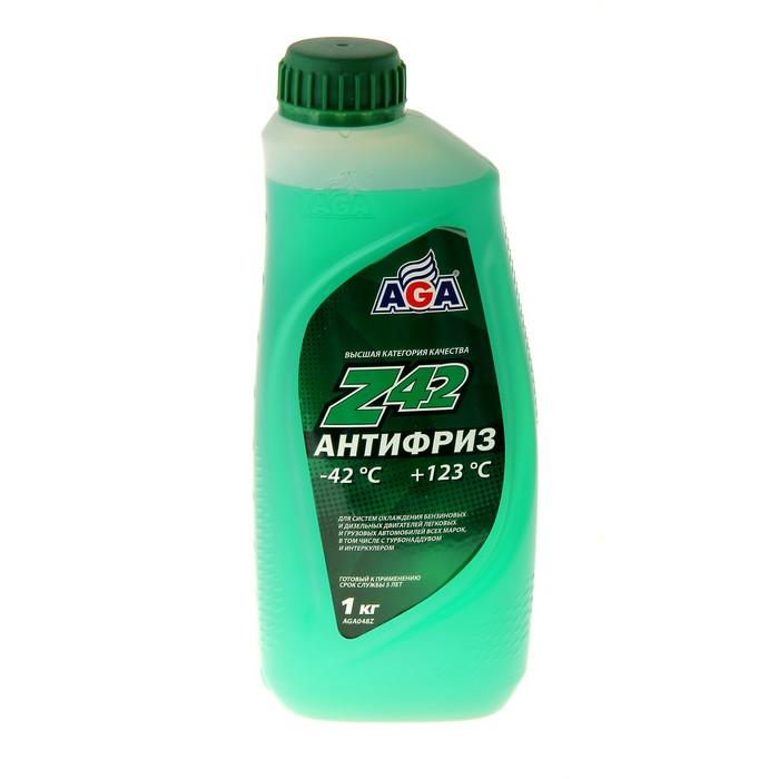 Антифриз готовый AGA -42С/+123С зелёный, 946 мл