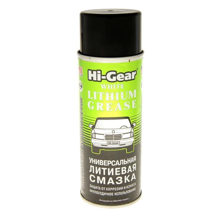 Смазка литиевая HI-GEAR универсальная 284г