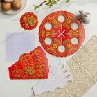 Пасхальный набор для сервировки стола «Хохлома» - фото 7280843