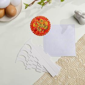 Пасхальный набор для сервировки стола «Хохлома» - фото 7280846