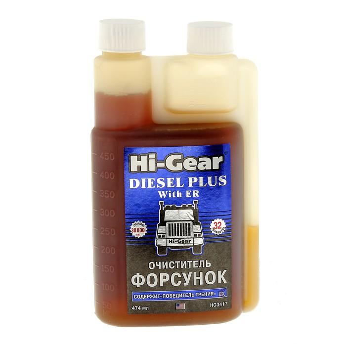 Очиститель форсунок дизельных ДВС HI-GEAR с ER 473мл
