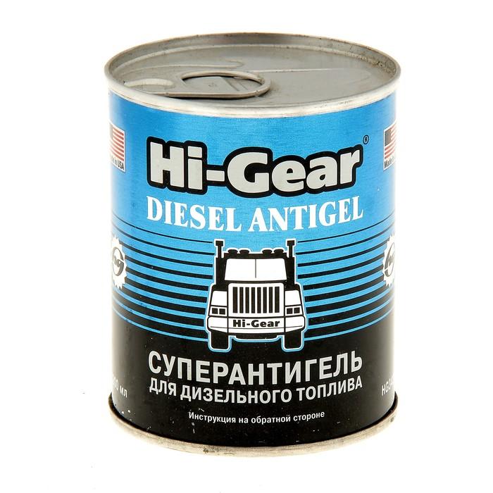 Антигель HI-GEAR для диз.топлива на 90л 200мл