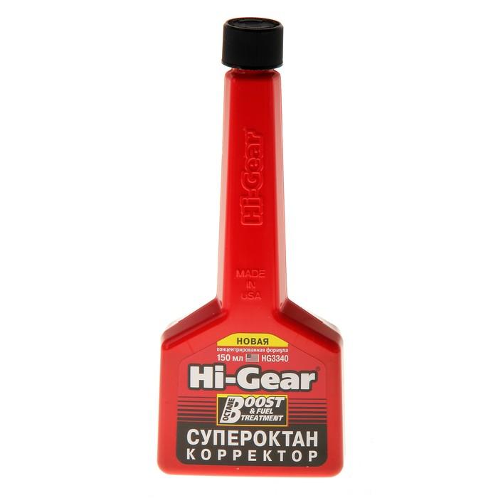 Присадка в топливо HI-GEAR для повышения октанового числа на 40-80мл 150мл
