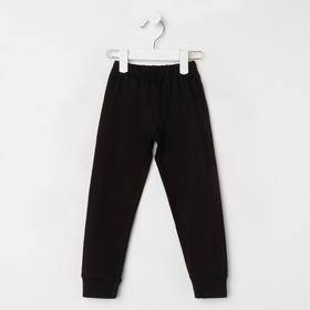 Кальсоны для мальчика, цвет чёрный, рост 104 см