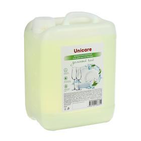 Концентрированный гель для мытья посуды  «Зеленый чай» UNICARE, ПВХ, 5л