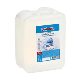 Средство для мытья полов UNICARE, ПВХ, 5л