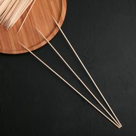 Шампур деревянный Komfi, 30×0,3 см, берёза, по 100 шт