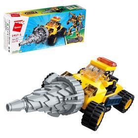 Конструктор Робот «Трансформер-стройтехника», 6 видов, МИКС