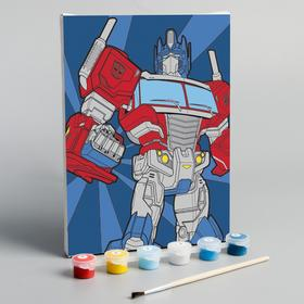 Картина по номерам «Оптимус», Transformers, 21 х 15 см