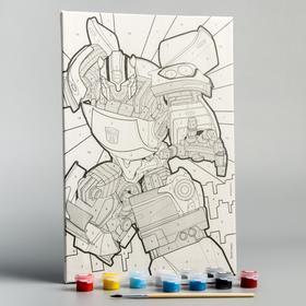 Картина по номерам «Бамблби», Transformers, 20 х 30 см