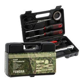 Набор инструментов в кейсе TUNDRA, подарочная упаковка, универсальный, 8 предметов