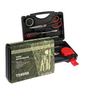 Набор инструментов в кейсе TUNDRA, подарочная упаковка, универсальный, 7 предметов