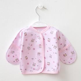 Распашонка детская, цвет розовый, рост 56 см