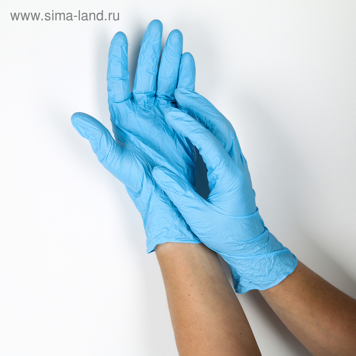 Nitrile gloves, size L, 10 PCs
