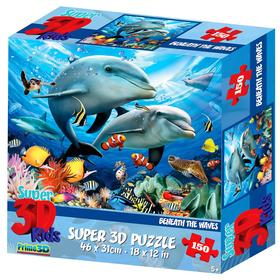 "3D Puzzle 150 El. ""Under the waves 2"" 5+ 10897"